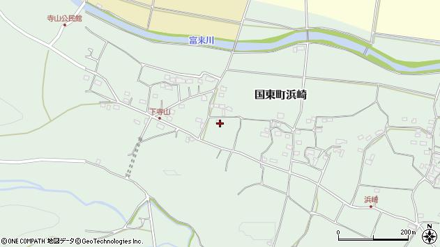 大分県国東市国東町浜崎860周辺の地図