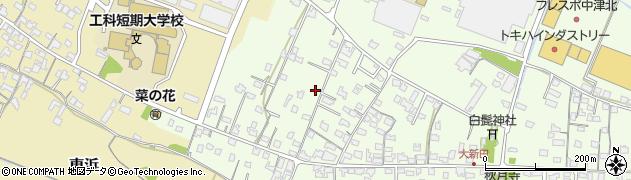 大分県中津市大新田840周辺の地図