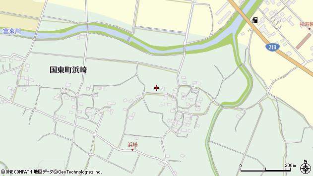 大分県国東市国東町浜崎2145周辺の地図