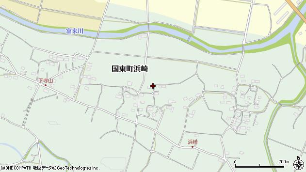 大分県国東市国東町浜崎1003周辺の地図