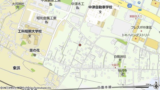 大分県中津市大新田830周辺の地図