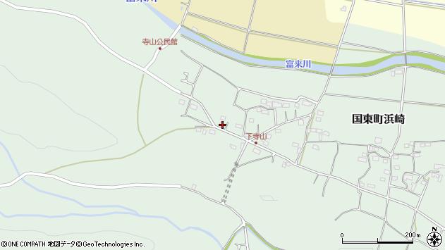 大分県国東市国東町浜崎813周辺の地図