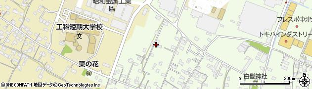 大分県中津市大新田867周辺の地図