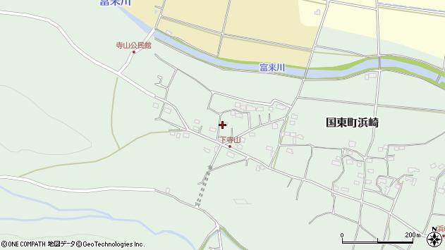 大分県国東市国東町浜崎140周辺の地図