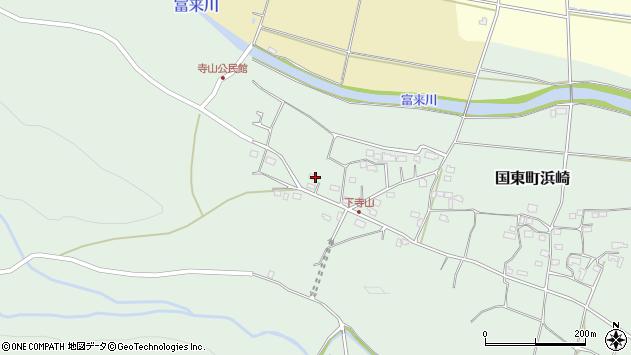 大分県国東市国東町浜崎814周辺の地図