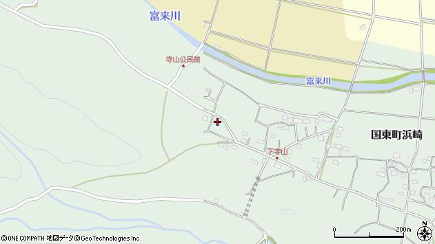 大分県国東市国東町浜崎790周辺の地図