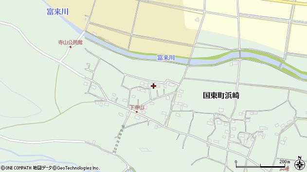大分県国東市国東町浜崎161周辺の地図