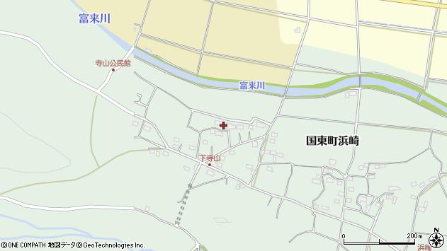 大分県国東市国東町浜崎163周辺の地図