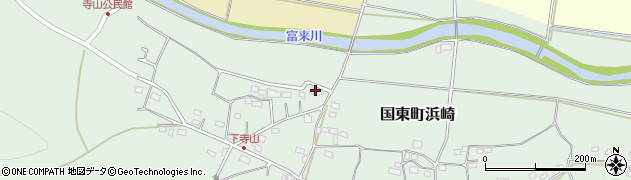 大分県国東市国東町浜崎129周辺の地図