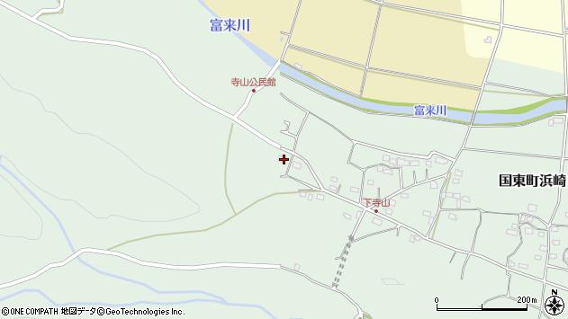 大分県国東市国東町浜崎773周辺の地図