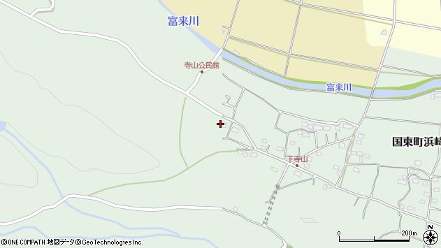 大分県国東市国東町浜崎774周辺の地図