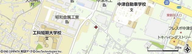大分県中津市大新田790周辺の地図