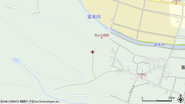 大分県国東市国東町浜崎711周辺の地図