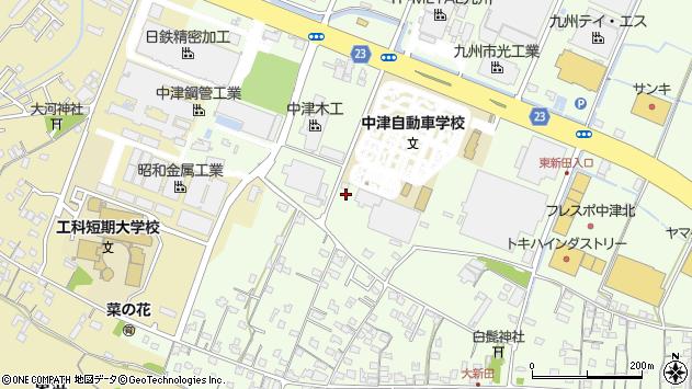 大分県中津市大新田533周辺の地図