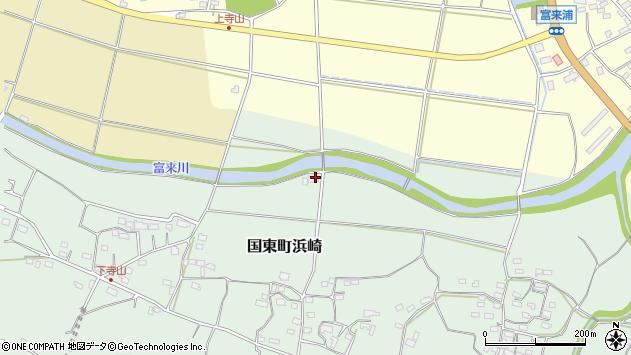 大分県国東市国東町浜崎66周辺の地図
