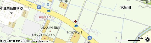 大分県中津市大新田211-1周辺の地図