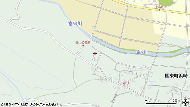 大分県国東市国東町浜崎758周辺の地図