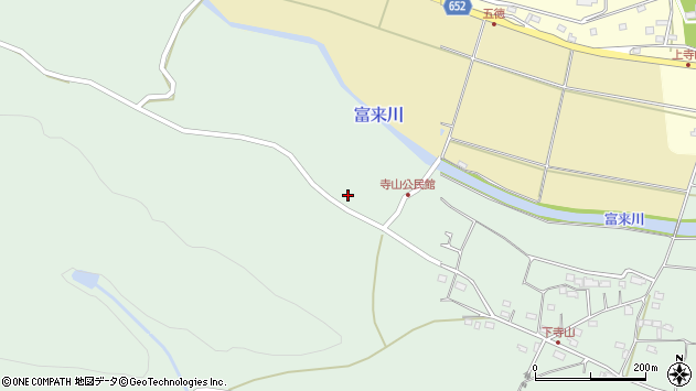 大分県国東市国東町浜崎661周辺の地図