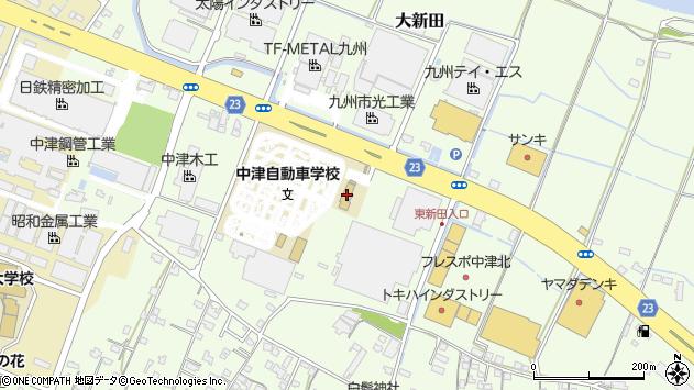 大分県中津市大新田368周辺の地図