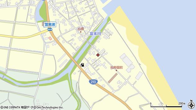 大分県国東市国東町富来浦2293周辺の地図