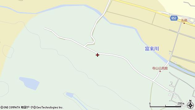 大分県国東市国東町浜崎588周辺の地図