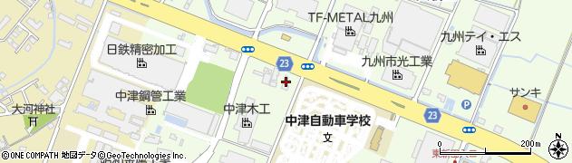 大分県中津市大新田440周辺の地図