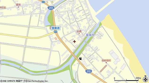 大分県国東市国東町富来浦2291周辺の地図