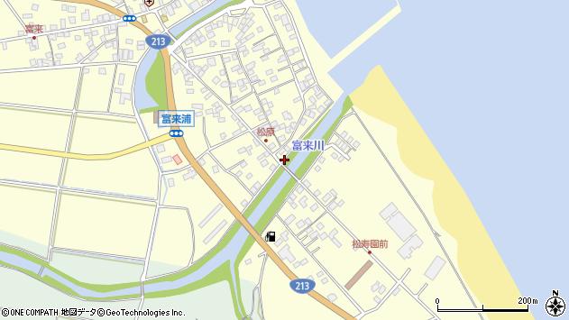 大分県国東市国東町富来浦2312周辺の地図