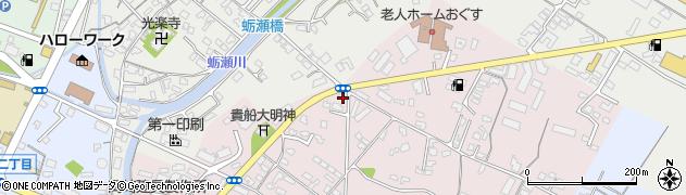 大分県中津市牛神87周辺の地図