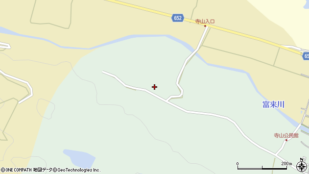 大分県国東市国東町浜崎502周辺の地図