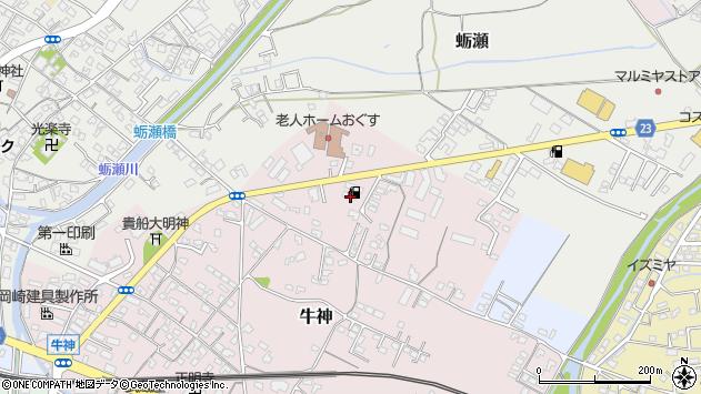 大分県中津市牛神24周辺の地図