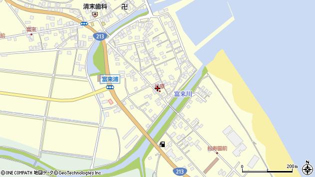大分県国東市国東町富来浦2250周辺の地図
