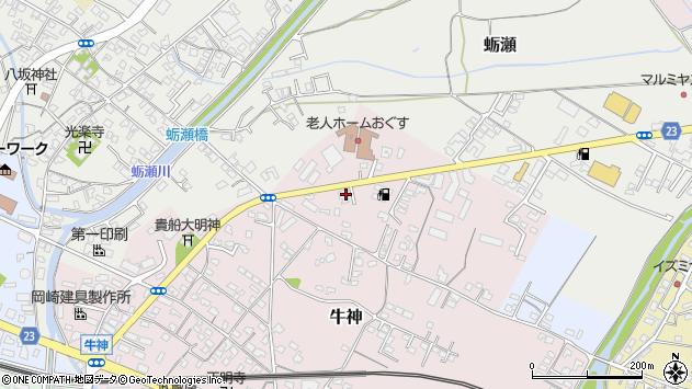 大分県中津市牛神13周辺の地図