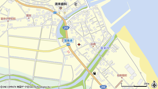 大分県国東市国東町富来浦2276周辺の地図