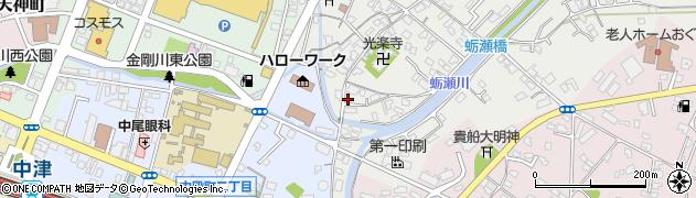 大分県中津市蛎瀬328周辺の地図