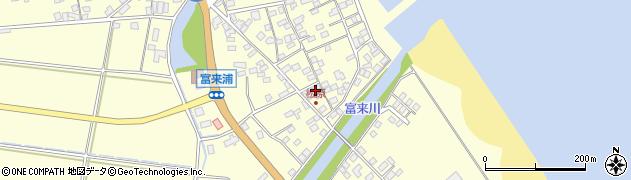 大分県国東市国東町富来浦2249周辺の地図