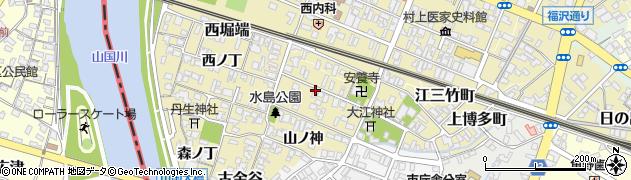 大分県中津市金谷中ノ丁周辺の地図