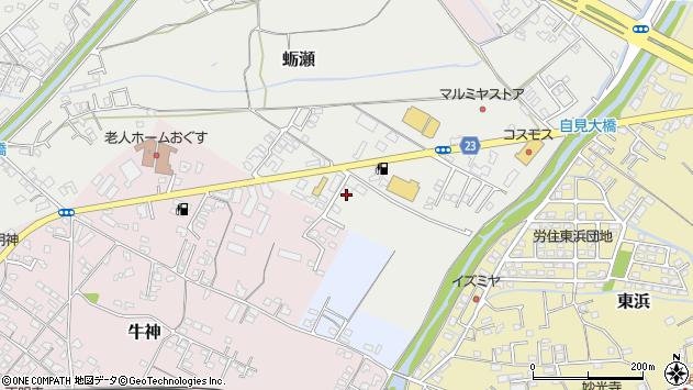 大分県中津市蛎瀬816周辺の地図