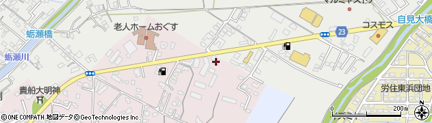 大分県中津市牛神37周辺の地図