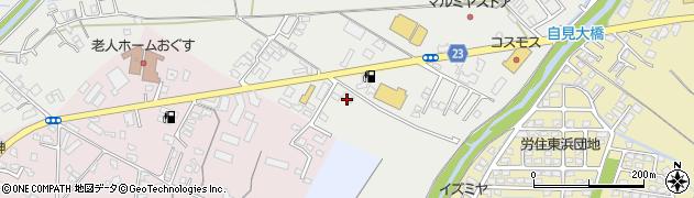 大分県中津市蛎瀬817周辺の地図