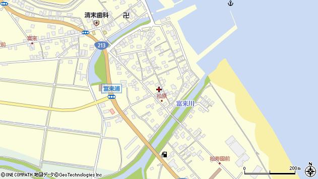 大分県国東市国東町富来浦2232周辺の地図
