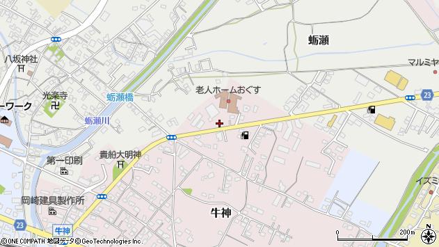 大分県中津市牛神5周辺の地図