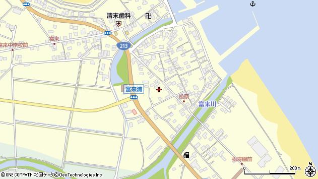 大分県国東市国東町富来浦2260周辺の地図