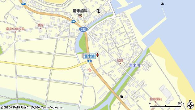 大分県国東市国東町富来浦2267周辺の地図