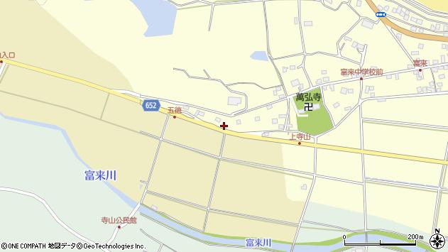 大分県国東市国東町富来浦266周辺の地図