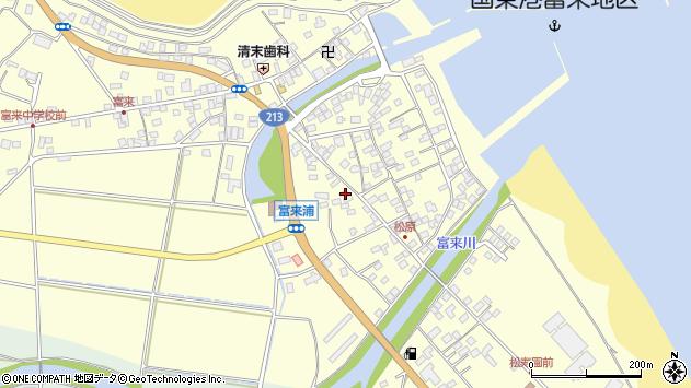大分県国東市国東町富来浦2073周辺の地図