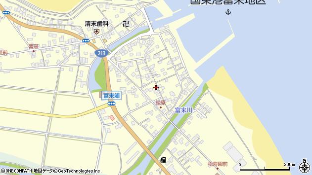 大分県国東市国東町富来浦2218周辺の地図
