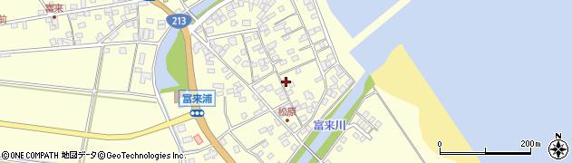 大分県国東市国東町富来浦2219周辺の地図