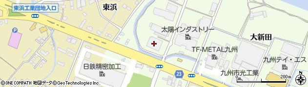 大分県中津市大新田471周辺の地図