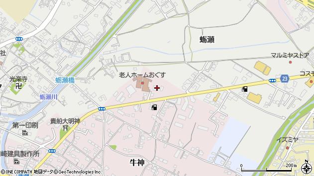 大分県中津市牛神20周辺の地図